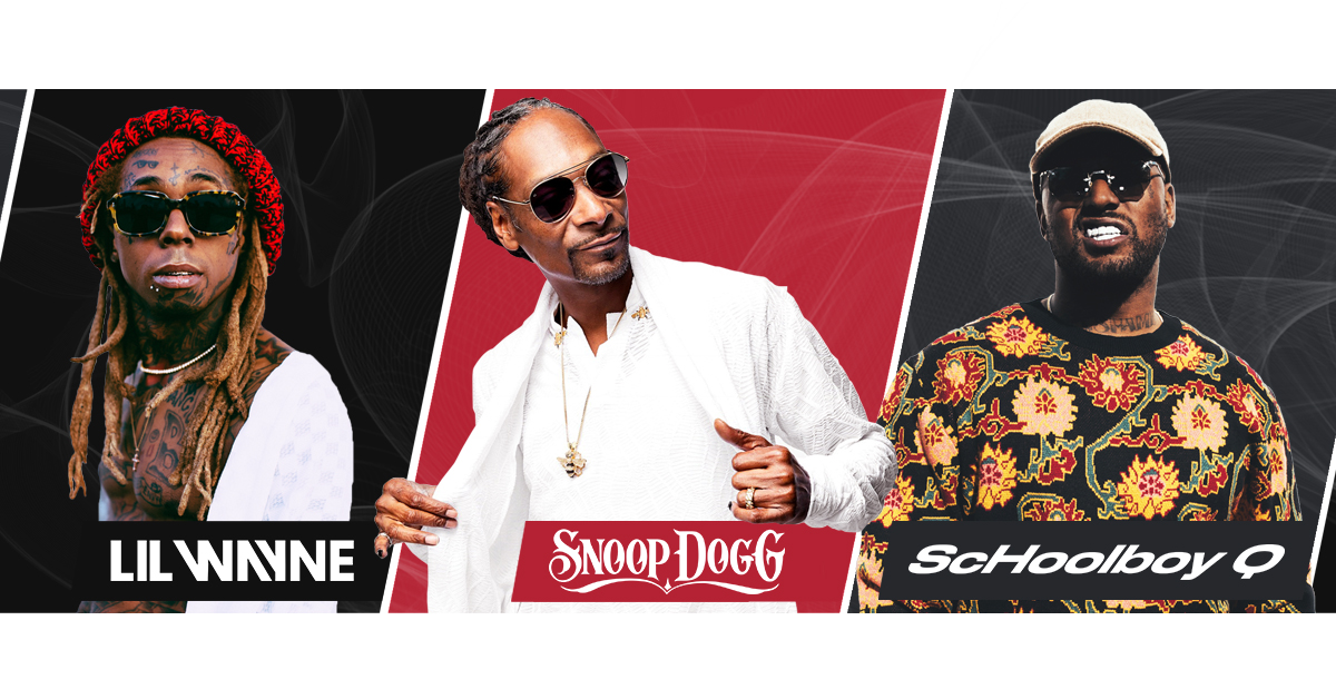 Lil Wayne Snoop Dogg and ScHoolboy Q