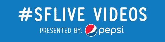 #SFLive Videos presented by Pepsi